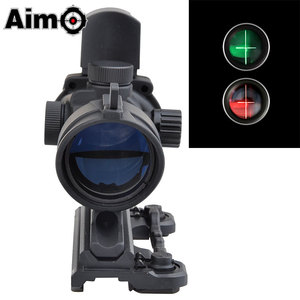 ACOG 4X 32 QD Mount Sight Scope Red / Green Reticle With Mini Red Dot RMR