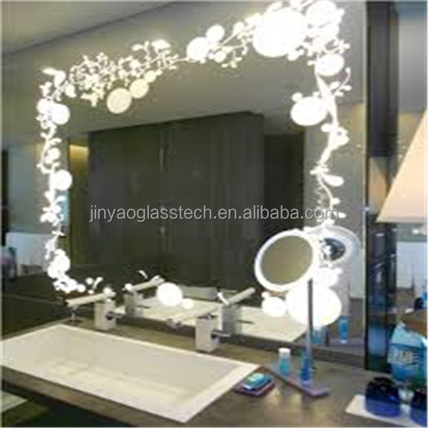 Led Bathroom Mirror With Blue Light Suppliers And Manufacturers At Alibaba
