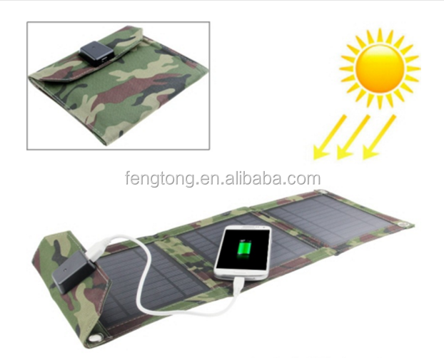 Outdoor waterproof foldable solar panel charge/portable folding solar rechargeable bag for smartphone/Ipad