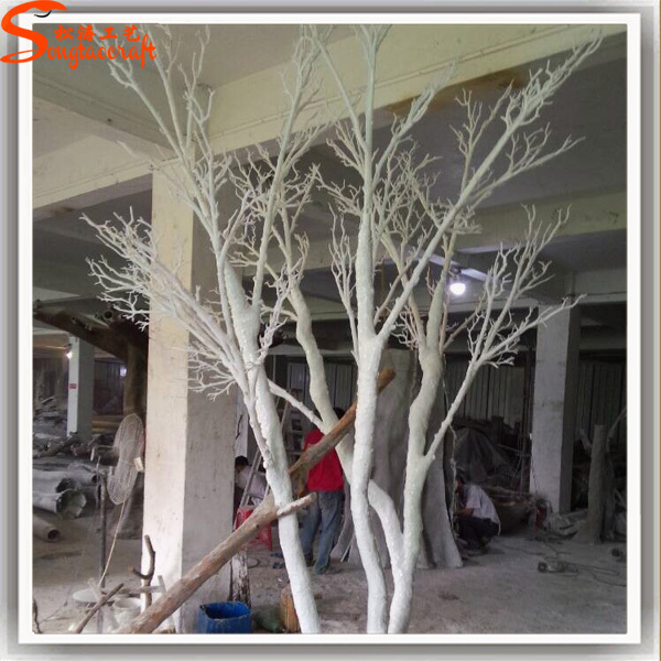 Latest Products To Singapore Artificial White Dry Tree For