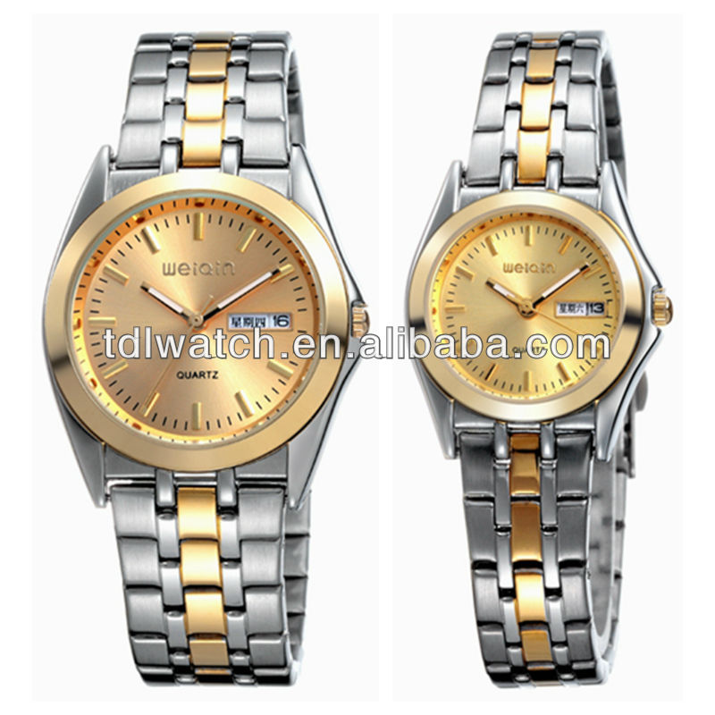Latest Trend Design Quartz Watch For Couples