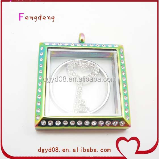 Fashion Square Wholesale Charm Locket