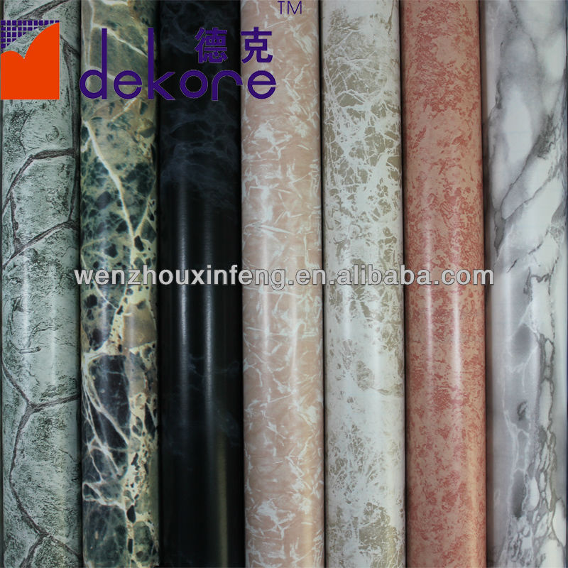 Marble adhesive paper