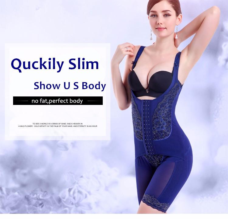 1b72f8ad0a Wholesale 72% nylon+28% spandex Leg Waist Shaper Blue Bodysuit Sexy  Slimming Body
