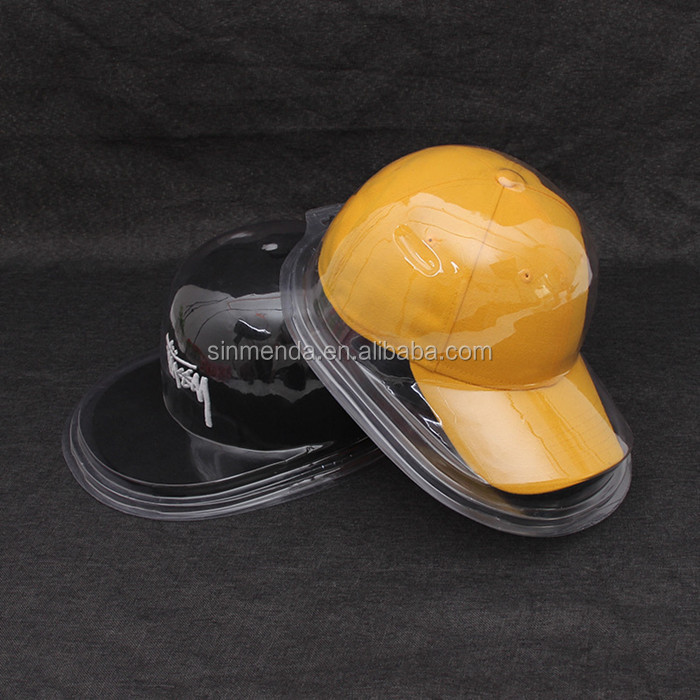 Display PET PVC blister clamshell packaging plastic clear clamshell packing for man women hat