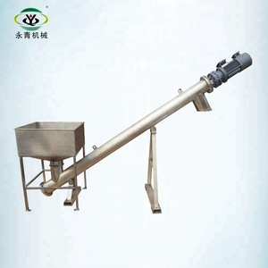 China factory supply sand screw conveyor system