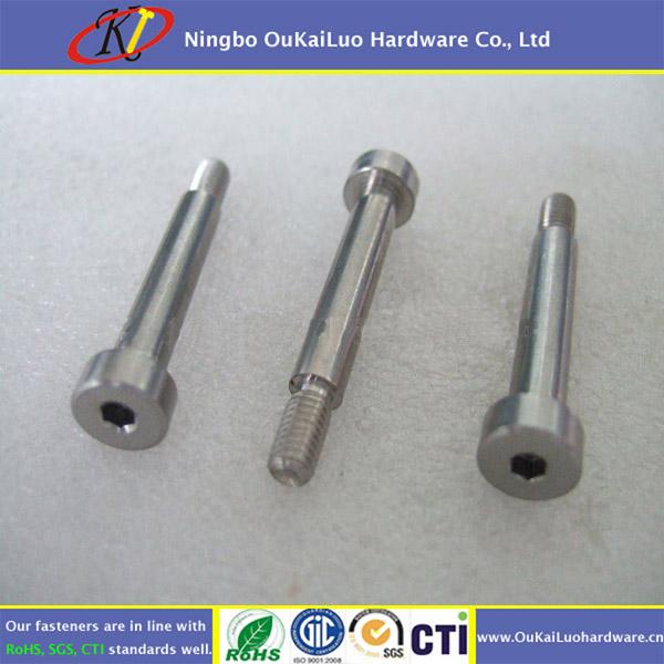 "1//4/"" x 5//8/"" Socket Shoulder Bolt Screw 10-24 x 3//8/"" Thread Length Alloy Steel"