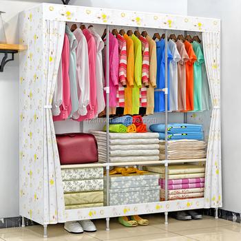 Lovely Bangladesh Furniture Price Organizer For Clothing Assemble Fabric Portable  Wardrobe Cabinet Closet