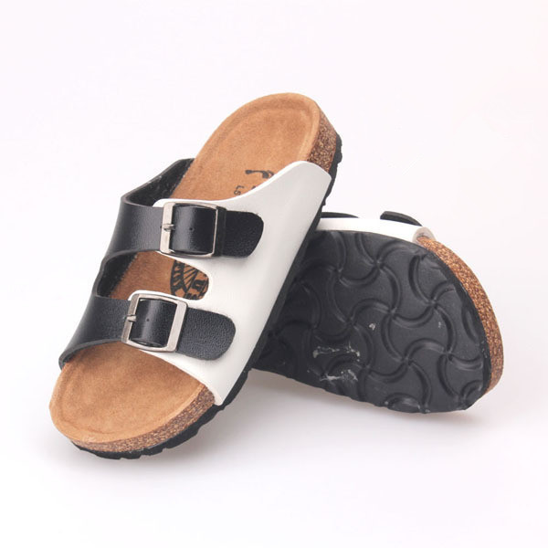 e9ee7e43d2 New Fashion Summer Style Slippers Children Beach Sandals Boys And Girls  Shoes Brand Design Birkenstock Cork Kids Sandals