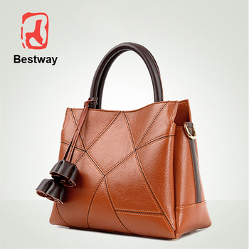 Luxury Bags Women Handbags Private Label Leather For
