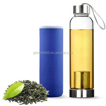 56ef3a6ad New Design Sport Bpa Free Infuser Glass Hydrogen Rich Water Bottle ...