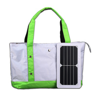 ECEEN portable solar bag and backpack charger 5 watts solar charger for mobile phone