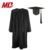 Black Graduation Sets Caps and Gown