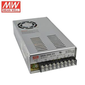 110Vac 220Vac NES-350-12 NES-350-24 200Watt 300W 350W 27V 12Vdc 24V 36V 48V LED Strips Driver Mean Well Industrial Power Supply