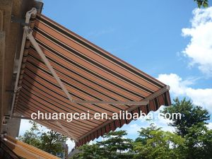high quality aluminum alloy or iron shipping container awning