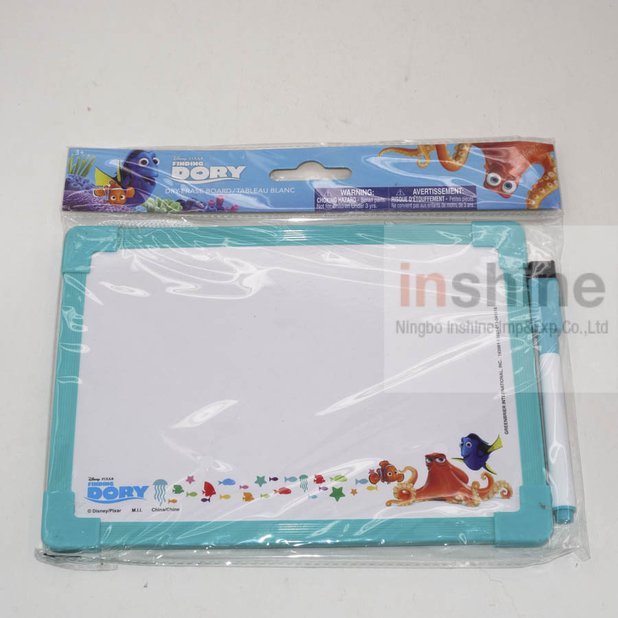 IN53045 Custom printing dry-erase board with marker pen set , whiteboard