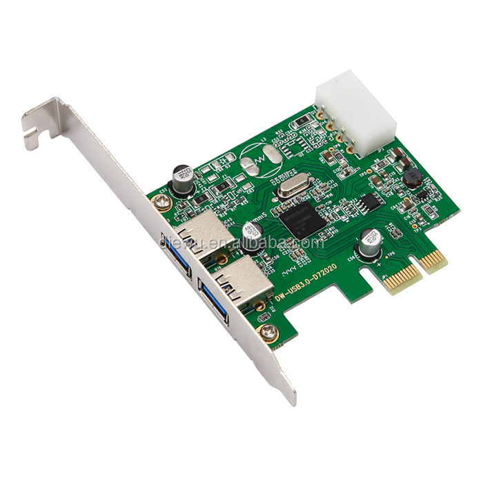 High Quality Multi port USB 3.0 PCI Expansion Card pci-e riser laptop usb 3.0 pci express card