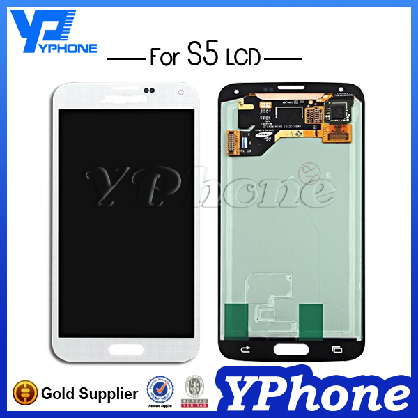 No.1 sale for s5 lcd digitizer assembly, for samsung galaxy s5 lcd with touch screen