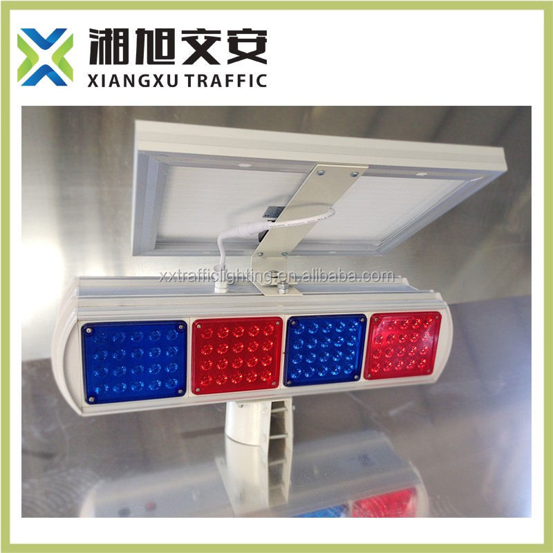 Factory manufacturing best price solar powered traffic warning lights