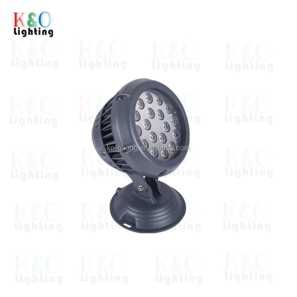 LED Outdoor Round Floodlight Projector for Garden Patio Landscape Lighting
