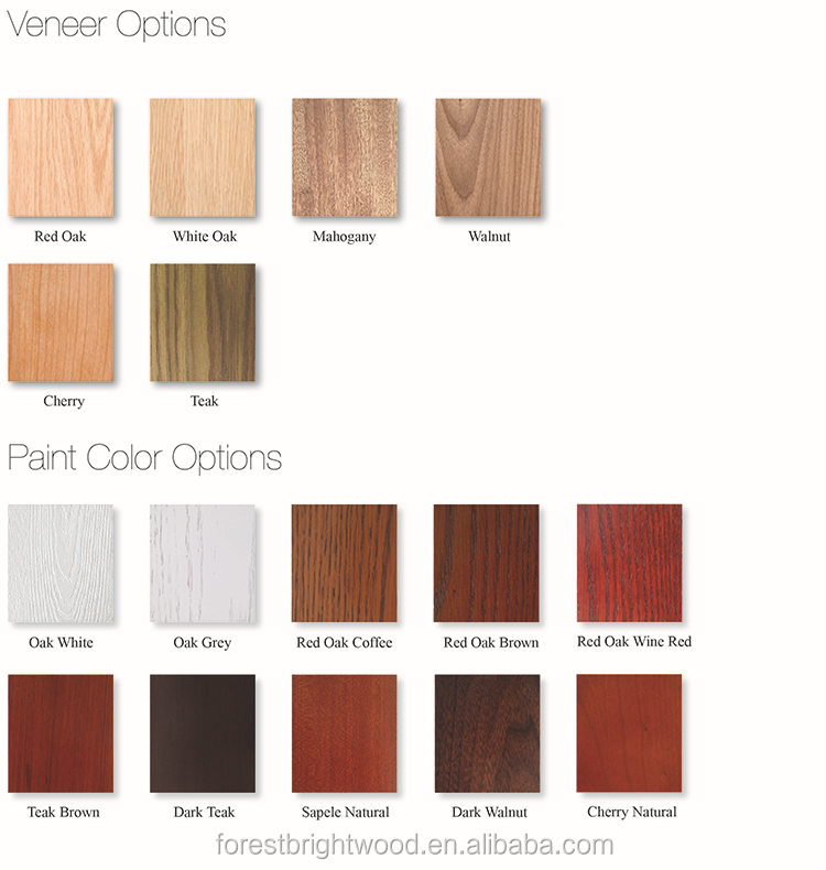 White Color Simple Design Bathroom Shaker 4 Panel Wooden Doors With ...