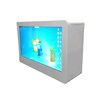 22 inch Interactive LCD Advertising Clear Transparent LCD Display Smart Window Showcase