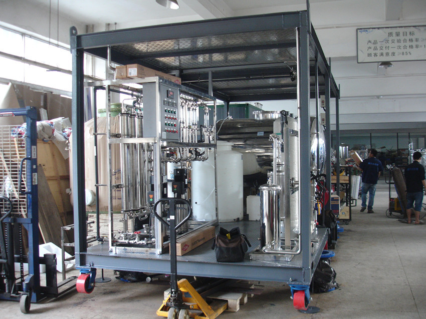 1800l H Containerized Mobile Water Treatment Plant Price
