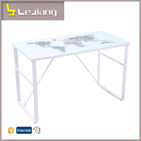 Cheap computer table design space saving home furniture computer desk