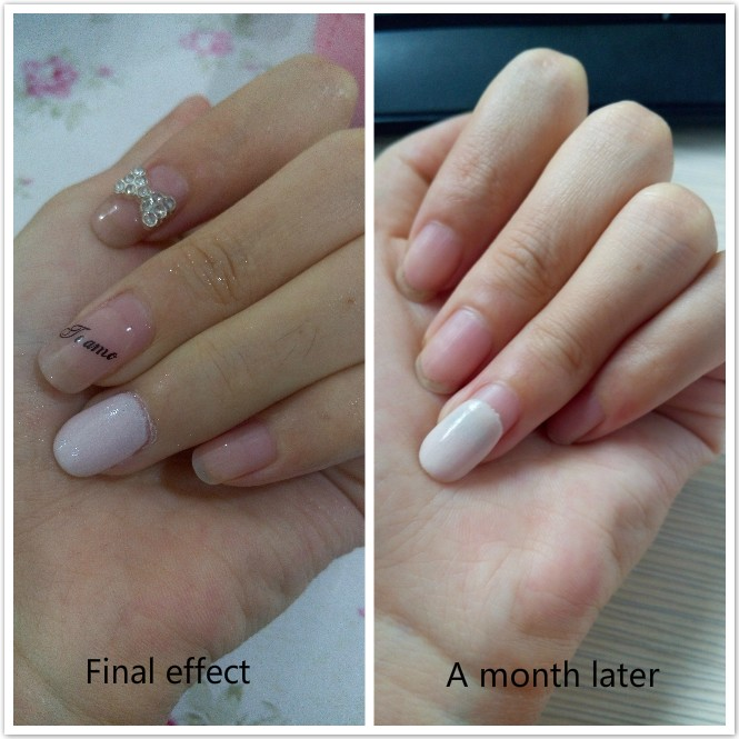 Easy French Nails Dipping System Dip Powder With Activator