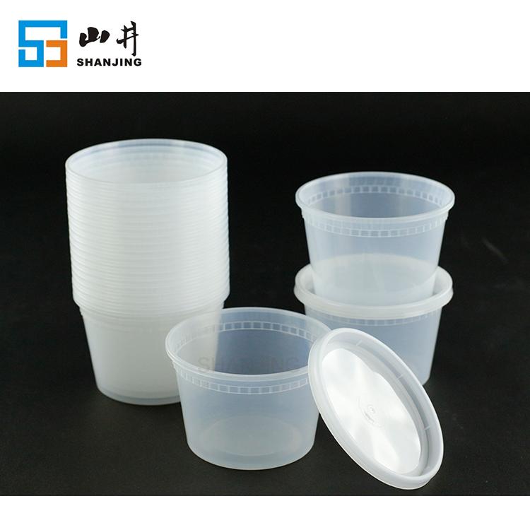 مانعة للتسرب خالية من BPA واضحة الوجبات الجاهزة microwavable غسالة صحون والفريزر آمنة ديلي حاويات كومبو حزمة
