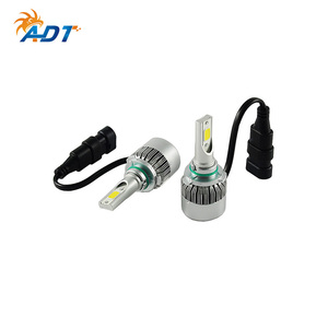 ADT 8000 LM COB chip super bright all in one motorcycle c6 led lamp for auto h4 9005 9006