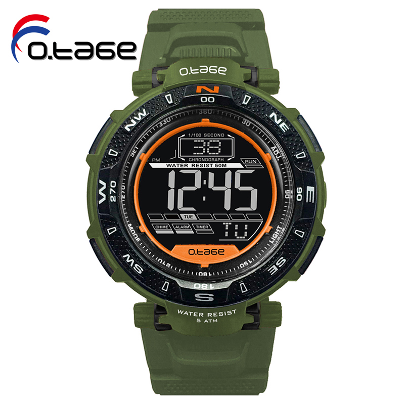 Multi-function PU Band 50M waterproof watch shops online