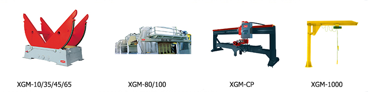 Single Column Pillar Auto Granite Stone Block Cutting Machine Manufactory Made In China
