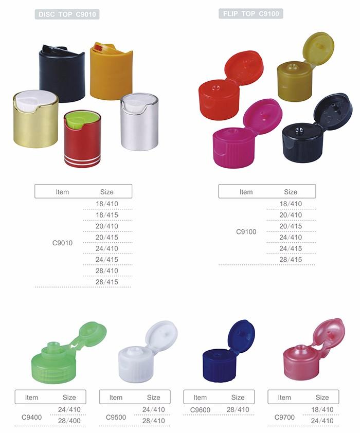 Đầy màu sắc nhựa vòng dầu gội nắp chai, nhựa nắp chai