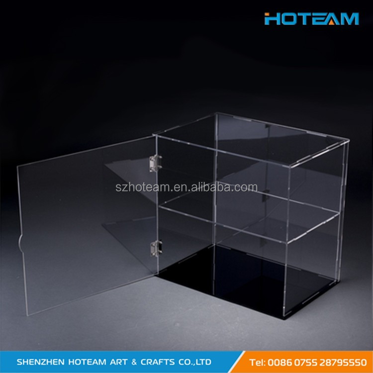 Fashionable Clear Acrylic Display Box Transparent Acrylic Watch Display Shelf
