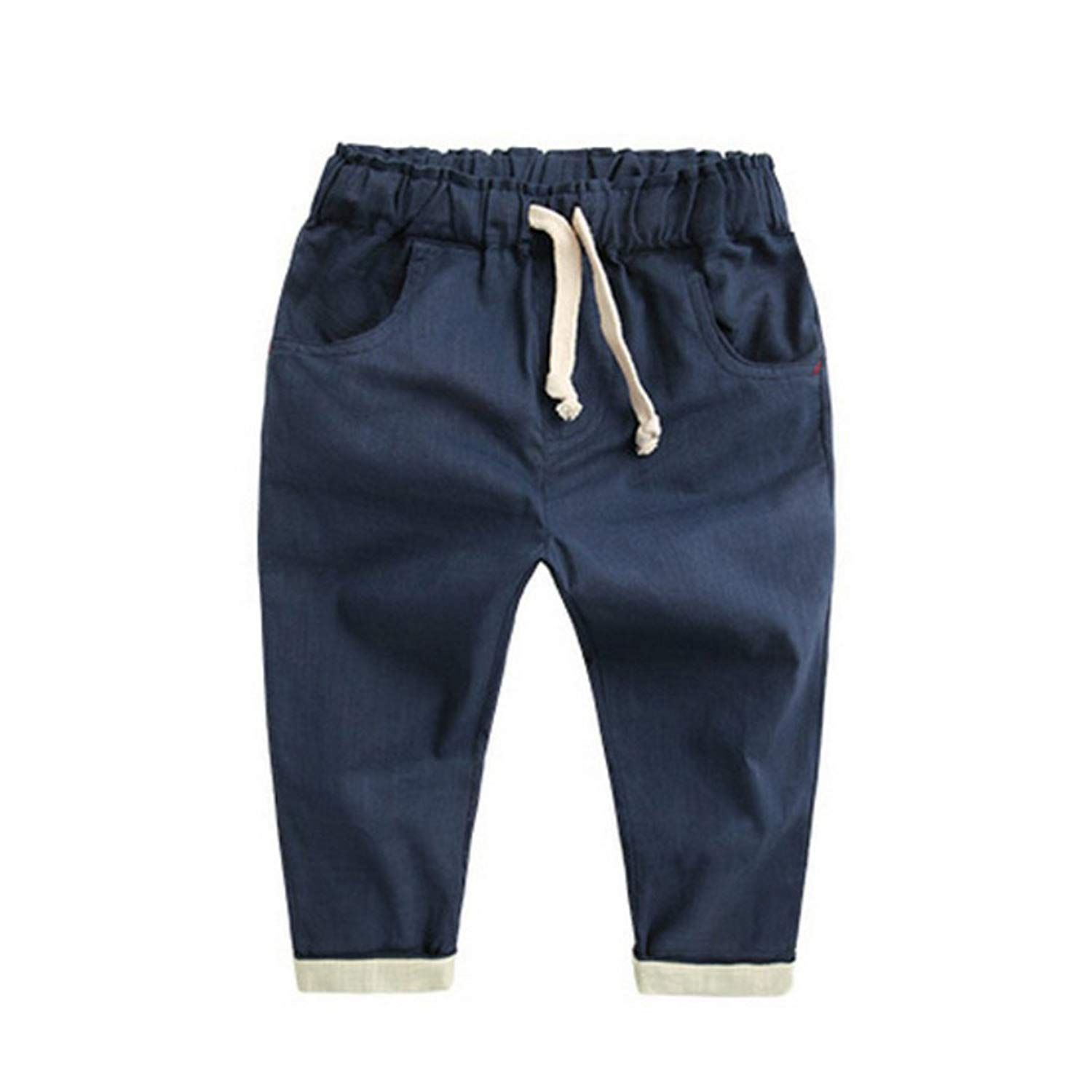 31831217611b Get Quotations · Boy Harem Long Pants Fashion Toddlers Casual Loose Trousers  Summer Bottoms