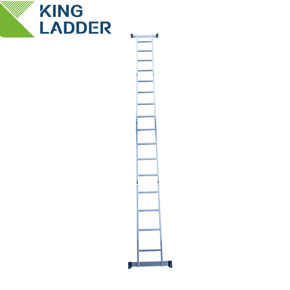 A frame scaffolding double coupler load capacity aluminum multi purpose ladder