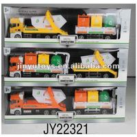 2012 new style new material nwe color 1:42 die cast model car garbage truck