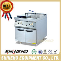 Factory Price French Fries Production Equipment Gas Deep Fryer