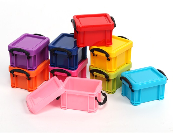 Colorful wholesale mini storage box stuffs storge