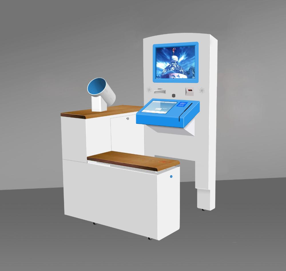 Kmy Special Design Dual Screen Healthcare Kiosk Blood