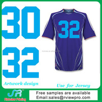 Number heat transfer printing used on sports Jerseys