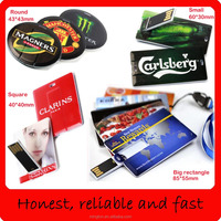 Business card usb flash drive 4gb bulk cheap