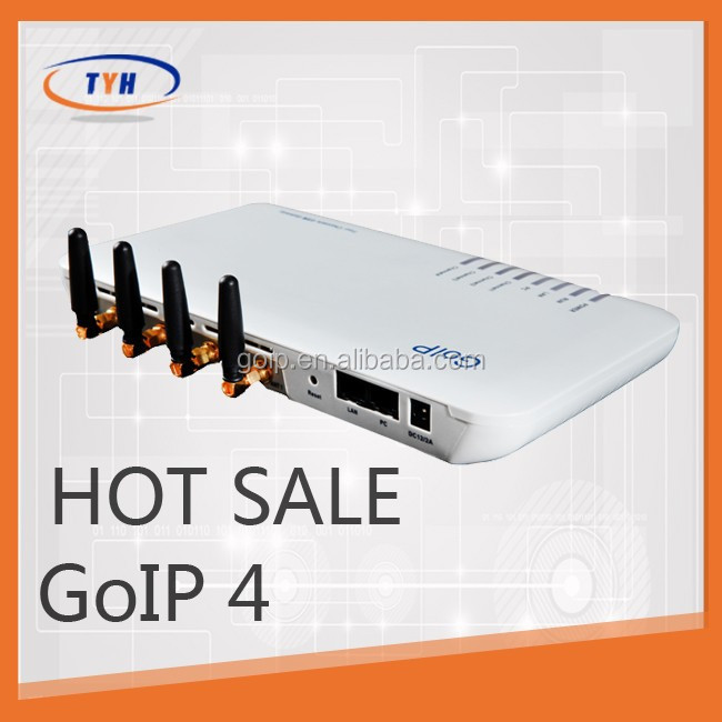 4 ports voice over ip GSM Gateway/cisco voip gateway