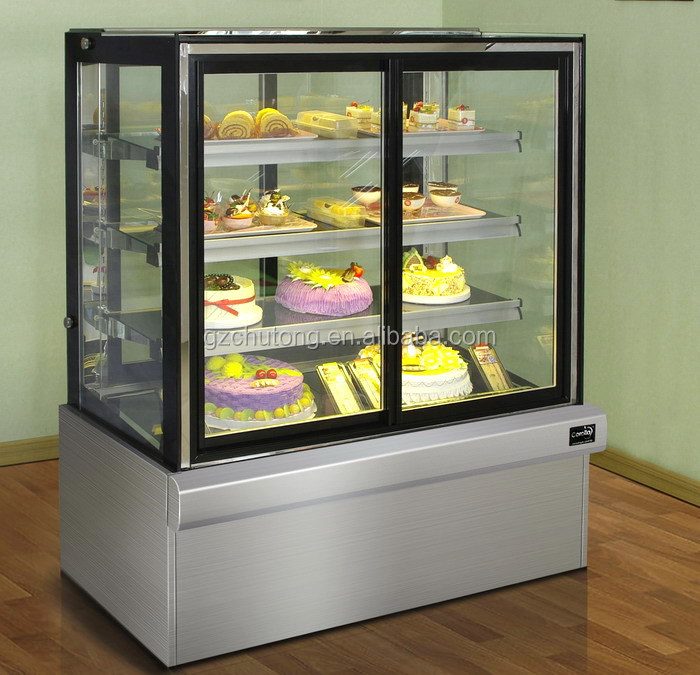 Pastry Display Refrigerator Commercial Marble Front And