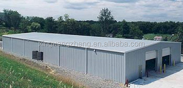 removable anti-seismic low cost prefab warehouse for factory storage