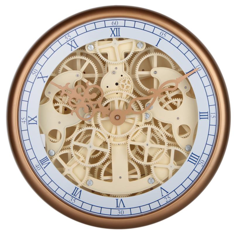 Home Goods Clocks: Home Decoration Mktime Plastic Gear Wall Clock