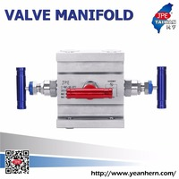 Chemical Products Variety Of Goods 3 Way Valve Manifold