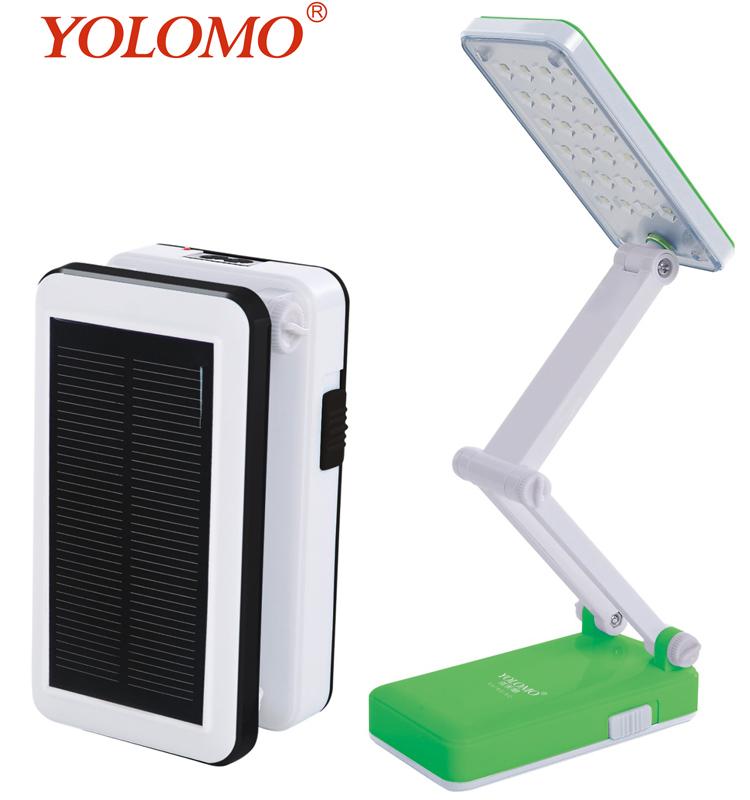Folding Lights Rechargeable Led Table Lamp Solar Desk Lamp Light