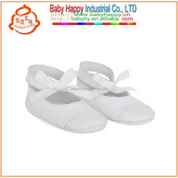 Wholesale Baby Ivory Silk Shoes